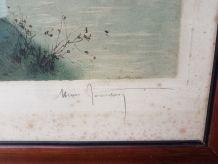 Aquateinte Henri Jourdain Original numéroté