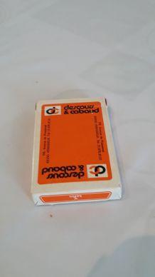 Jeu de 32 cartes ancien publicitaire Descours & Cabaud