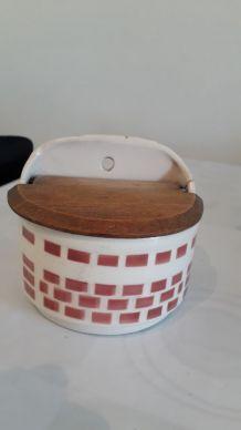 Pot porcelaine vintage années 60