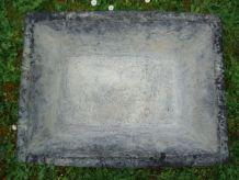 Auge ancienne de maçonnerie en caoutchouc  60 x 45 x 20