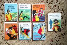 7 volumes de Fantômette - La bibliothèque rose