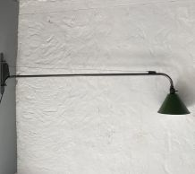 ANCIENNE LAMPE POTENCE SWING INDUSTRIELLE