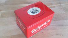Boîte à thé années 60
