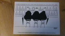 Carte postale J. Faizant 1983