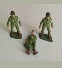 Lot Soldats Infirmiers + Malade Starlux