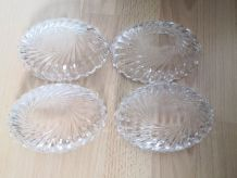 4 pots en verre