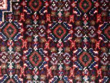 Tapis vintage Persan Nain fait main, 1C687