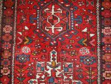 Tapis vintage Persan Karajeh fait main, 1C692