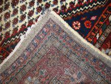 Tapis vintage Persan Hamadan fait main, 1C695