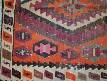 Tapis ancien Afghan fait main, 1C699