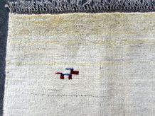 Tapis vintage Persian Gabbeh fait main, 1Q0017