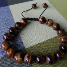 bracelet pierre oeil de tigre