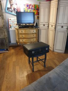 Table console vintage Valise