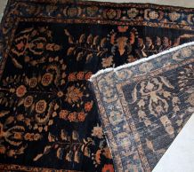 Tapis ancien Persan Sarouk fait main, 1B828