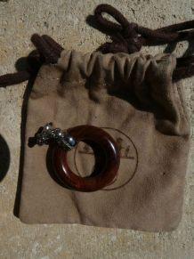 Anneau de foulard Hermès à breloque étoile