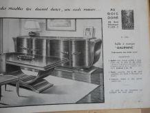Catalogue de meubles fin 40
