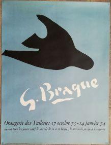 Affiche exposition  Georges Braque
