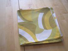 8 serviettes de table vintage en coton 44 cm x 43 cm