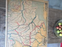 Carte scolaire Vidal Lablache n°6 et 6bis