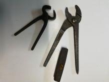 Outils anciens pour enfants