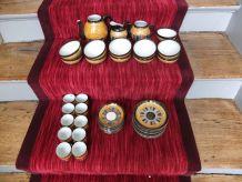 Service à thé et service à café en porcelaine japonais
