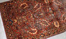 Tapis ancien Persan Sarouk fait main, 1B841