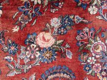 Tapis vintage Persan Sarouk fait main, 1Q0064