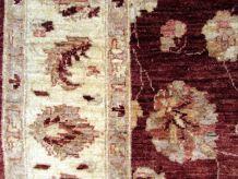Tapis vintage Afghan Zigler fait main, 1Q0117