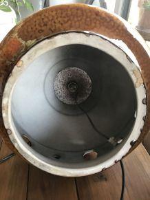 Pied de lampe céramique vintage