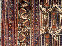 Tapis ancien Persan Afshar fait main, 1Q0138