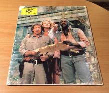 Chuck Norris Lou Gosset Le Temple d'or - Vintage 70'