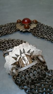 ceinture yves saint laurent en métal vintage