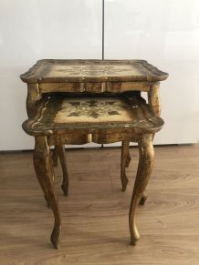 2 tables gigognes Florentines - Années 50