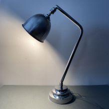 ANCIENNE LAMPE BUREAU vintage 1950