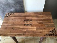 Table ancienne relooké