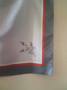 Fourlard gris vintage sans marque