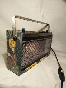 Lampe radio/lampe vintage/detournement d'objet