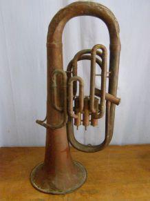 """Euphonium """"Gautrot"""" à restaurer  longueur 70cm"""