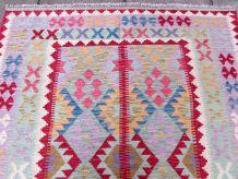 Tapis vintage Afghan fait main, 1Q0168