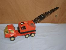 Ancien jouet Tonka  Camion grue en métal