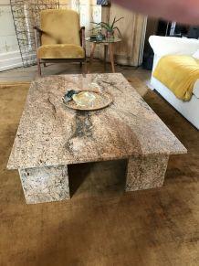 Superbe table marbre 1978