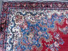 Tapis vintage Persan Kerman fait main, 1Q0219
