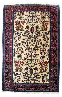 Tapis vintage Indien Tabriz fait main, 1Q0221