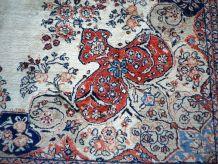 Tapis vintage Persan Mahal fait main, 1Q0233