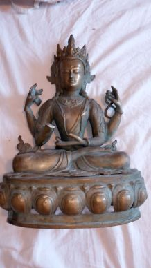 Chivas en bronze ancien