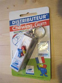 Porte clé collector distributeur de chewing gum