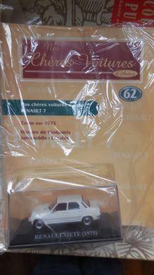 Miniature Renault 7 TL 1975 - Nos chères voitures d'antan