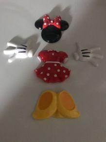 Mickey et Daisy aimantés