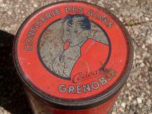 Boite Publicitaire En Tole Confiserie Des Alpes Cedea