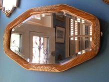 Miroir octogonal  Art déco